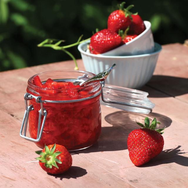 Jordbærsyltetøy med Sukrin