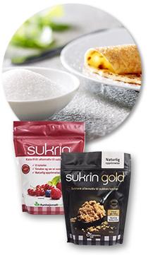 Sukrin og Sukrin Gold