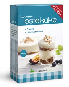 Sunnere Ostekake - Funksjonell Mat