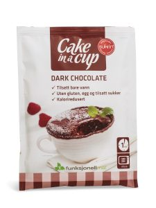 Cake in a Cup dark chocolate