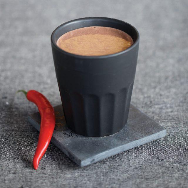 Kakao med chili