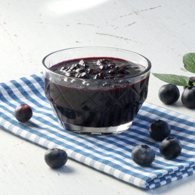 Rørte blåbær med Sukrin