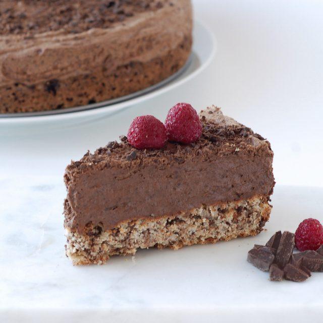Sjokolademoussekake