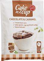 Cake in a Cup - Chocolate & Caramel