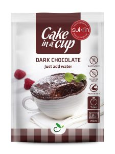 Cake in a cup - dark chocolate